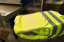 Желтые сигнальные жилеты с надписью «FILIN»